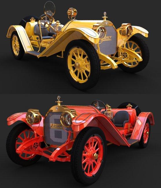 MERCER 1911 for DAZ Studio