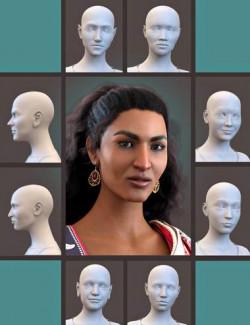 SBibb Diverse World Vol 2 for 200 Plus for Genesis 8 Female