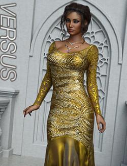 VERSUS - dForce Mermaid Gown for G8F & G8.1F