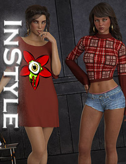 InStyle - dforce - Layered Tees - G8F
