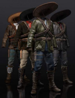 Guerrillero Outfit Textures