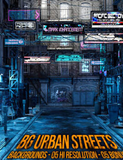 Background Urban Street