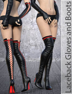 Laceback Gloves and Boots