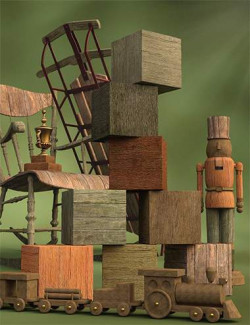 Ancient Boards - Weathered Wood and Plank Shaders for Iray