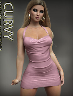 Curvy Body Morphs for G8F and G8.1F Vol 4