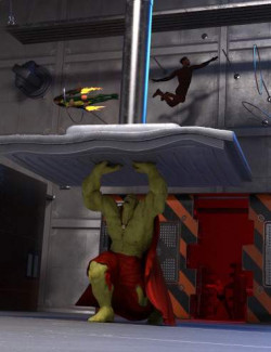 Superhero Training Room
