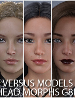 VERSUS MODELS - Head Morphs for G8F and G8.1F Vol8