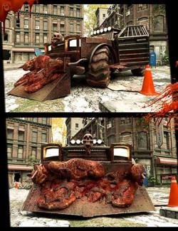 Wasteland Post Apocalyptic Car