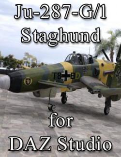 Ju-287-G/1 Staghund for DAZ Studio