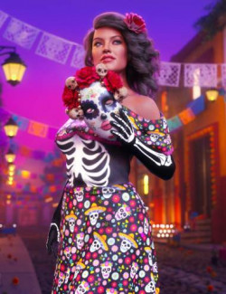 Rosa Maria 8.1 Day of the Dead Bundle