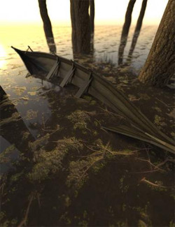 Wet Forest Floor Iray Shader