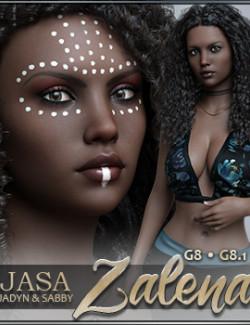 JASA Zalena for Genesis 8 and 8.1 Females