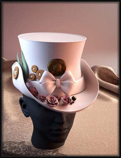 ND Fantasy Hats for Genesis 8 Female
