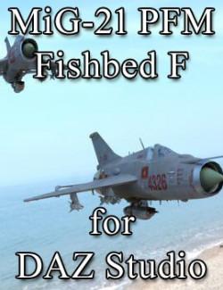 MiG-21 PFM Fishbed F for DAZ Studio