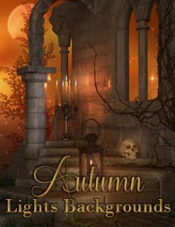 Autumn Lights Background