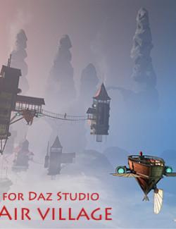 Air village for Daz Studio