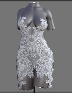 VYK Lacey Dress for Genesis 8.1 Females