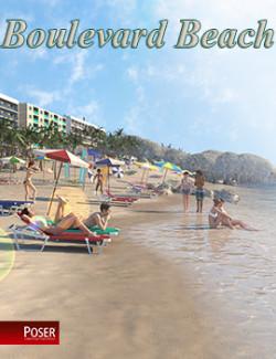 Boulevard Beach for Poser
