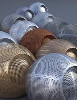 Perforated Metal II - Iray Shaders