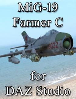 MiG-19 Farmer C for DAZ Studio