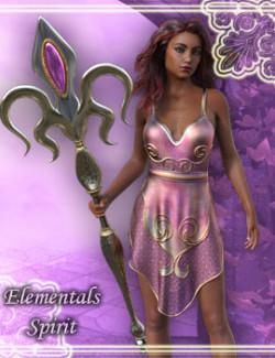dForce Elementals Spirit for Genesis 8.1 Female
