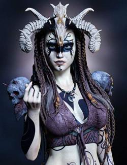 Ash Nuin For Genesis 8.1 Female