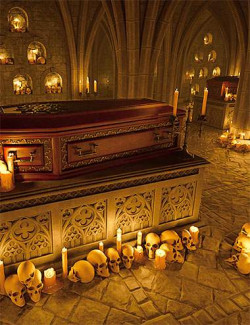 Vampire Crypt and Props